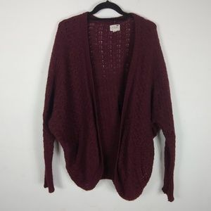 L.A. Hearts Open Knit Cardigan One Size